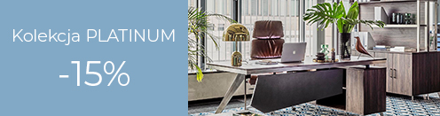 Nowoczesne meble biurowe Platinum Promocja
