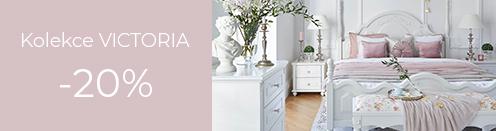 Bílý nábytek Victoria Sleva