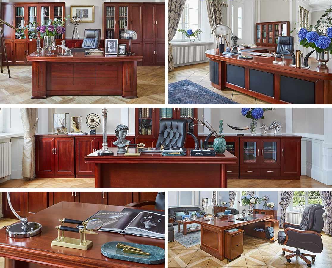 5 aranżacji gabinetu prezesa
