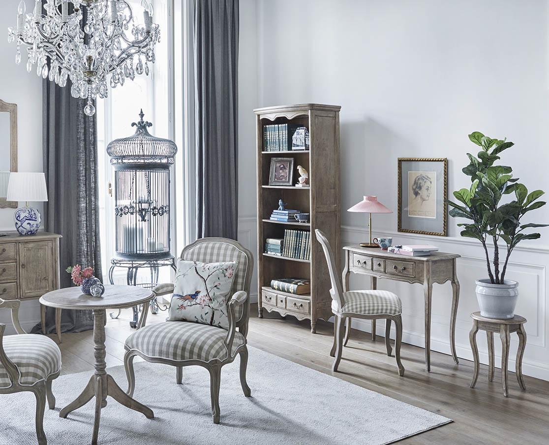 Home Office - domowe biuro w stylu francuskim