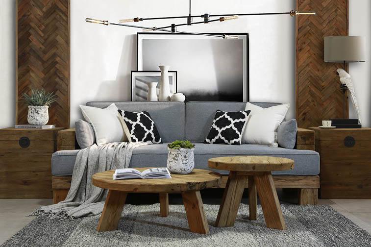 Kolekce Woodside je charakteristická jednoduchou, syrovou formou a využitím masivu k výrobě nábytku. Při tvorbě této kolekce byl inspirací rustikální styl, avšak v moderním pojetí. Charakteristickým prvkem je zdůraznění přirozené barvy a výrazně viditelná struktura dřeva.