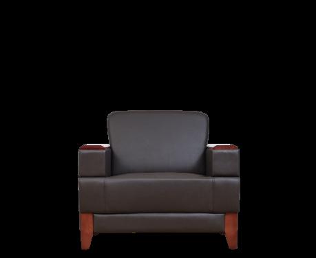 Fotel PORTER brązowy