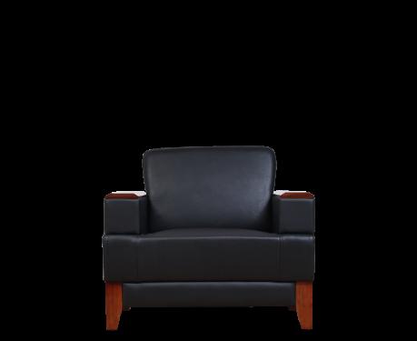 Fotel PORTER czarny