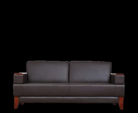 Sofa 3-osobowa PORTER brązowy