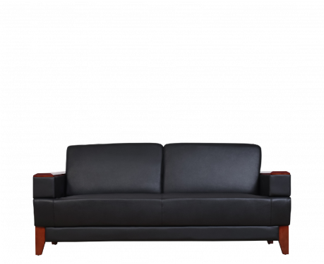 Sofa 3-osobowa PORTER czarny