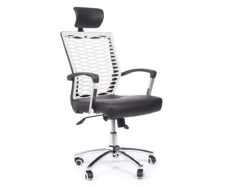 Fotel biurowy ACTIVE PLUS czarno/biały