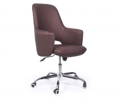 Fotel biurowy ADVISOR brązowy