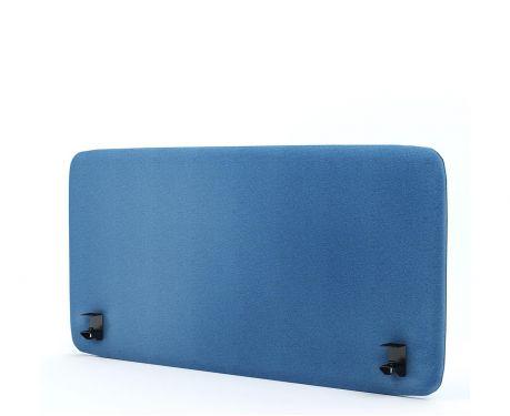 Panel akustyczny na biurko 120X60 niebieski