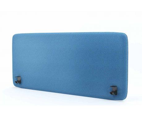 Panel akustyczny na biurko 140X60 niebieski
