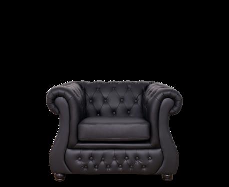 Fotel CHESTER LUX czarny