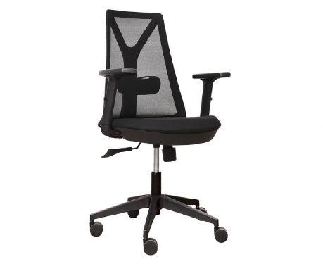 Fotel biurowy COMET czarny