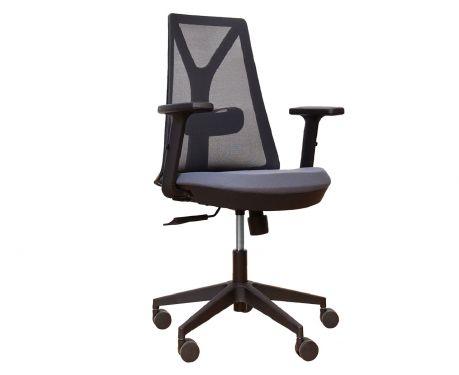 Fotel biurowy COMET szary