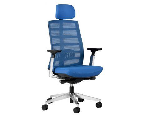 Fotel ECLIPTIC niebieski