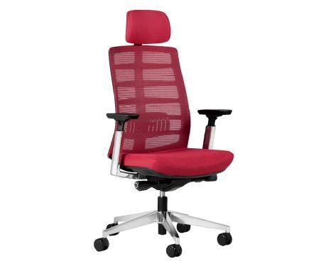 Fotel ECLIPTIC czerwony