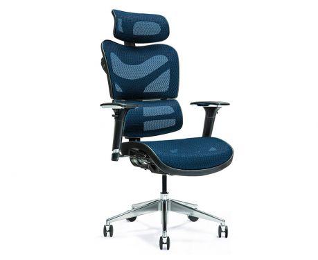 Ergonomiczny fotel biurowy ERGO 600 granatowy