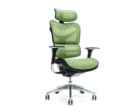 Ergonomiczny fotel biurowy ERGO 700 zielony