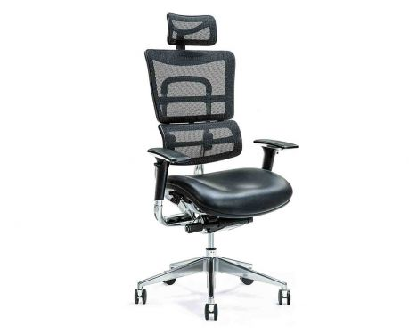 Ergonomiczny fotel biurowy ERGO 800 czarny