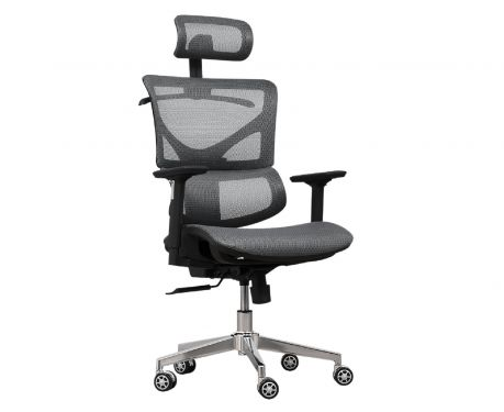 Fotel biurowy ERGO 400 szary