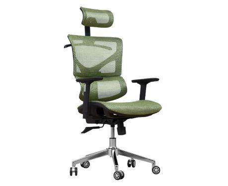 Fotel biurowy ERGO 400 zielony