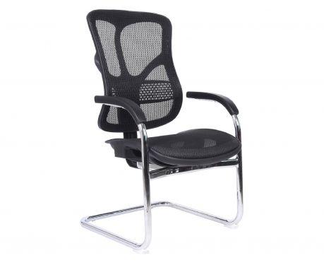 Ergonomiczne krzesło konferencyjne ERGO 650 czarny