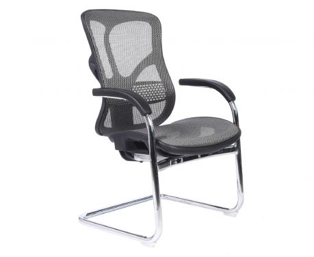 Ergonomiczne krzesło konferencyjne ERGO 650 szary
