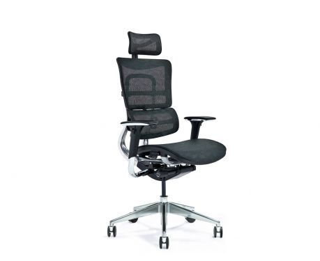 Ergonomiczny fotel biurowy ERGO 800-M czarny