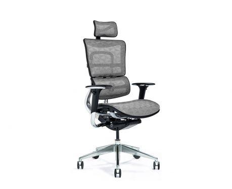 Ergonomiczny fotel biurowy ERGO 800-M szary