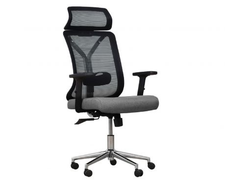 Fotel biurowy FLOW szary