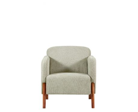 Fotel FUSION jasnoszary