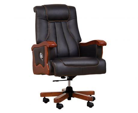 Fotel skórzany PRESTIGE czarny