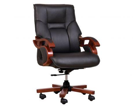 Fotel skórzany MANAGER czarny