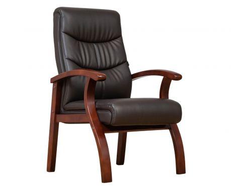 Krzesło biurowe COMFORTE brązowy