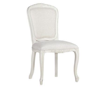 Fotel LEILA blanc