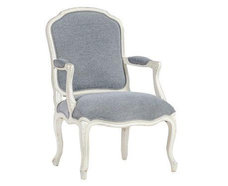 Fotel LINA blanc