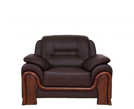 Fotel PALLADIO brązowy