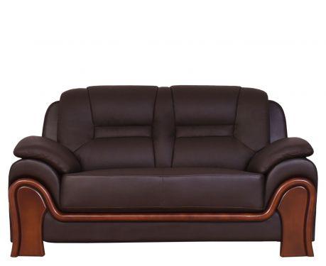 Sofa 2-osobowa PALLADIO brązowy