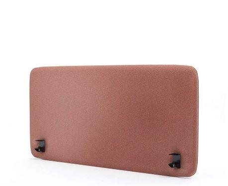 Panel akustyczny na biurko 120X60 różowy