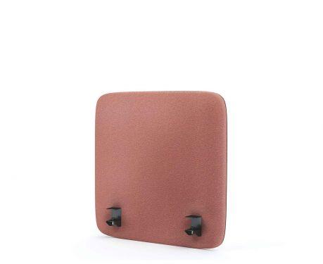 Panel akustyczny na biurko 60X60 różowy