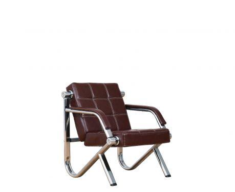Fotel STILIO PLUS brązowy