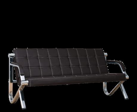 Sofa 3-osobowa STILIO PLUS czarny