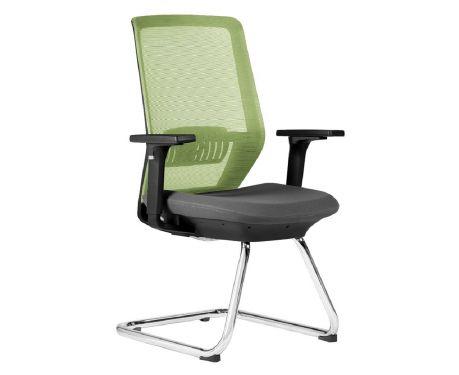 Krzesło konferencyjne SPECTRUM zielony