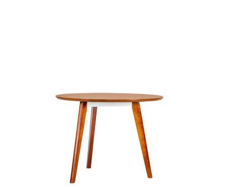 Nowoczesny okrągły stolik EVOLUTIO F02 80 cm