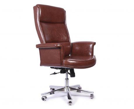 Fotel biurowy STUDIO PLUS brązowy