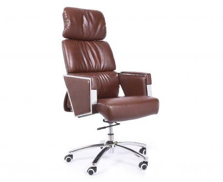 Fotel biurowy TRIUMPH brązowy