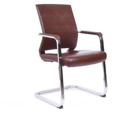 Krzesło konferencyjne UNION brązowy