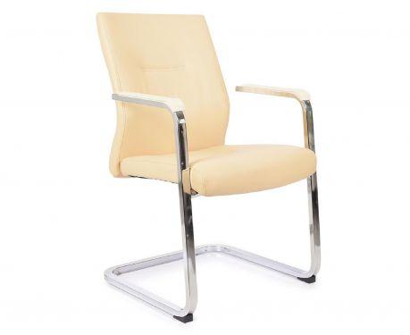 Krzesło konferencyjne VISITOR kremowy