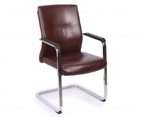Krzesło konferencyjne VISITOR brązowy