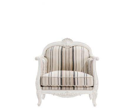 Fotel wypoczynkowy ELODIE I beżowo-czarny
