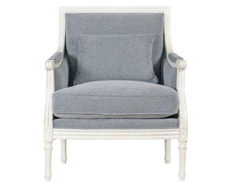Fotel CECILE I blanc