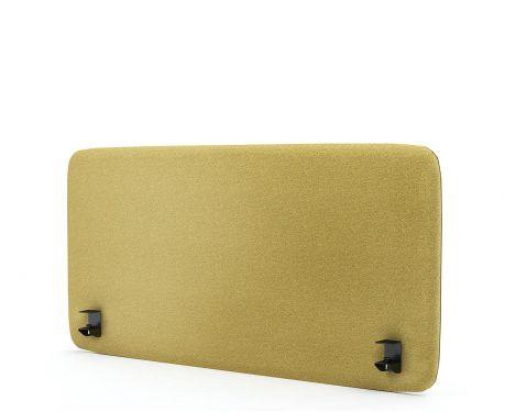 Panel akustyczny na biurko 120X60 żółty